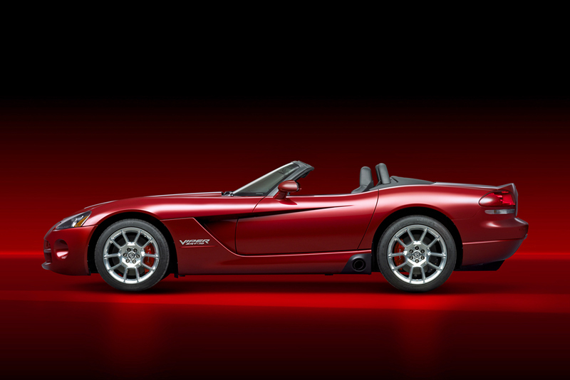 Foto Perfil Dodge Viper Descapotable 2006