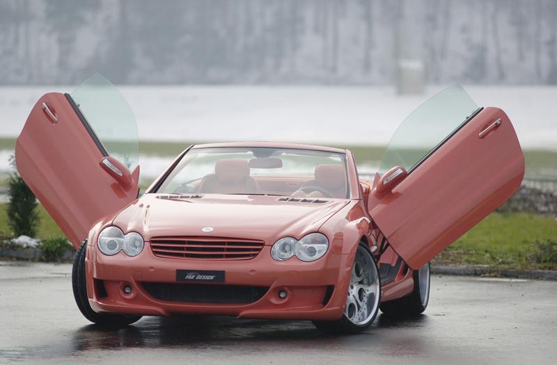 Foto Delantera Fab Design Sl Megawings Descapotable 2005