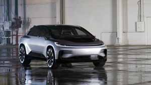 Foto Delantera Faraday Future 91 Dos Volumenes 2017