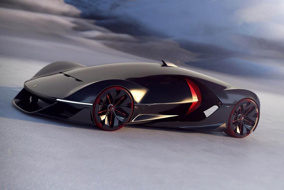 El Ferrari del 2040