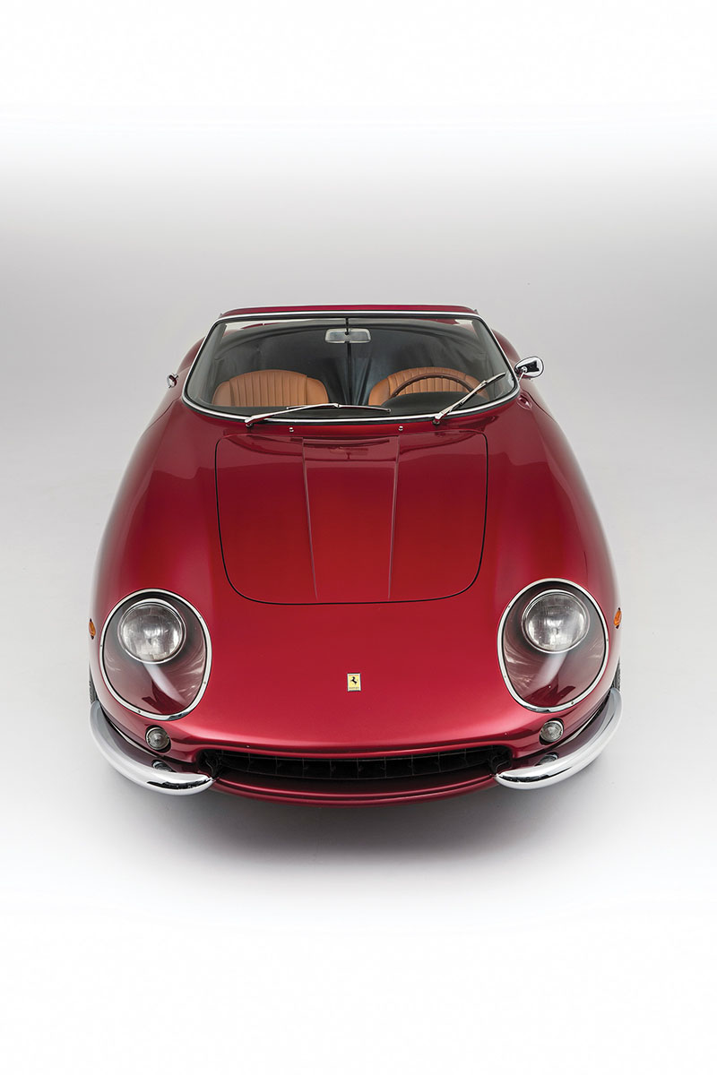 Foto Delantera Ferrari 275 Gts 4 Nart Spider Descapotable 1968