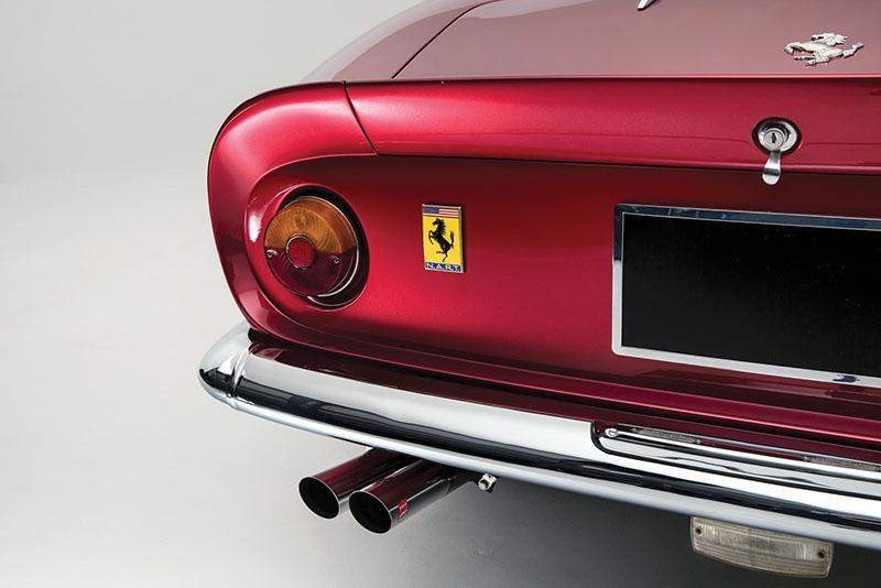 Foto Detalles Ferrari 275 Gts 4 Nart Spider Descapotable 1968