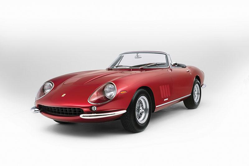 Foto Exteriores Ferrari 275 Gts 4 Nart Spider Descapotable 1968