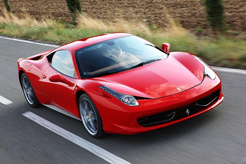 Foto Delantera Ferrari 458 italia Cupe 2009