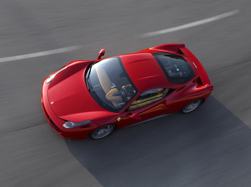 Foto Lateral Ferrari 458 italia Cupe 2009