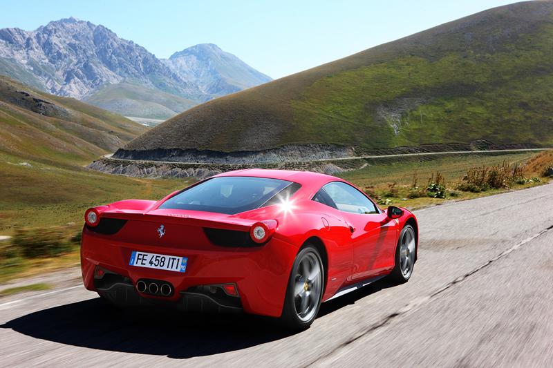 Foto Trasera Ferrari 458 italia Cupe 2009