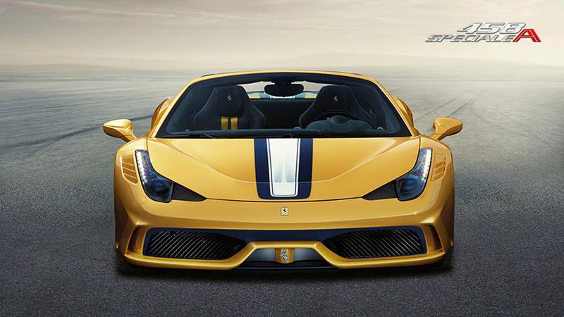Foto Delantera Ferrari 458-speciale-a Descapotable 2014