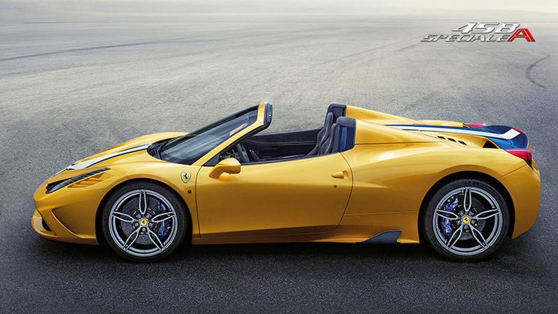 Foto Lateral Ferrari 458-speciale-a Descapotable 2014