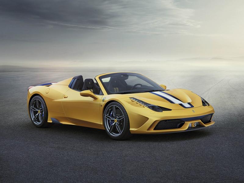 Ferrari 458 Speciale A en el Salón de París 2014