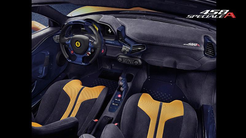 Foto Salpicadero Ferrari 458-speciale-a Descapotable 2014