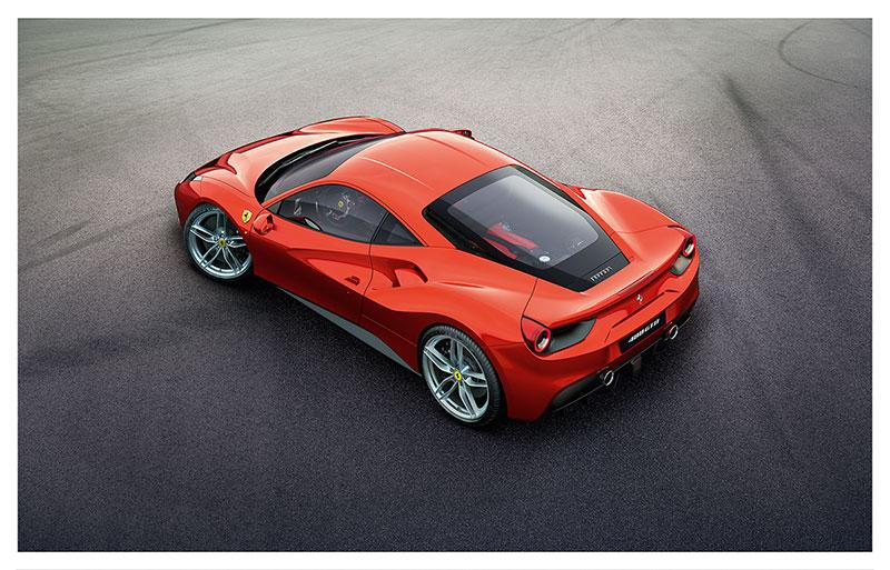 Foto Trasera Ferrari 488 Gtb Cupe 2015