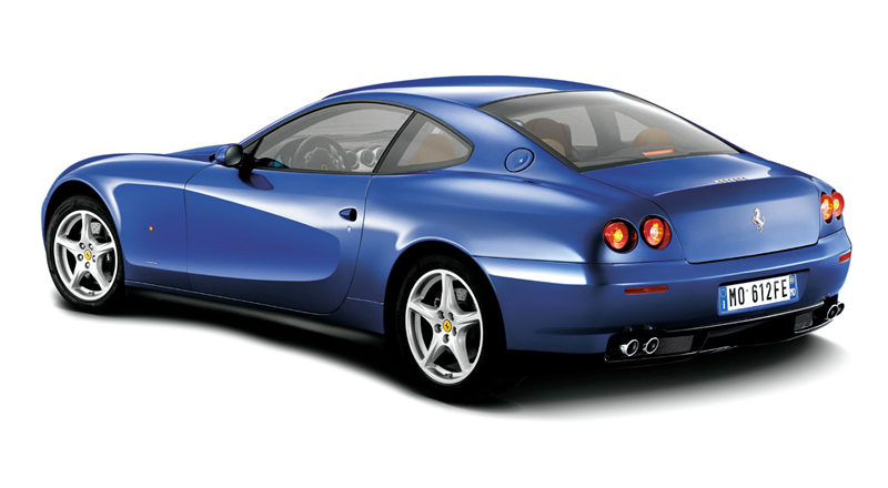 Foto Lateral Ferrari 612 Cupe 2008