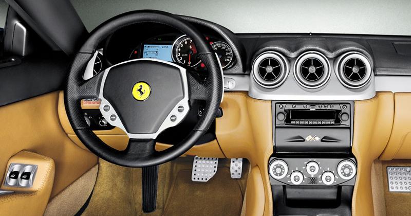 Foto Salpicadero Ferrari 612 Cupe 2008