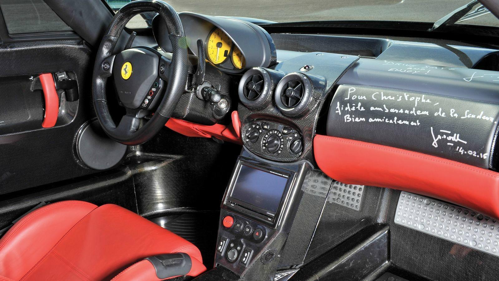 Interior Ferrari Enzo