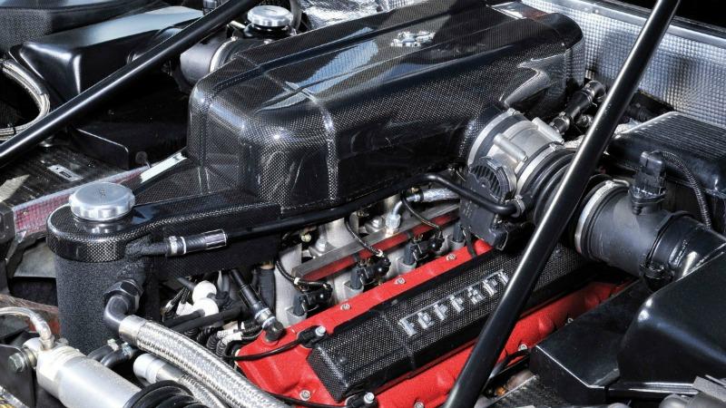 Foto Tecnica Ferrari Enzo Cupe 2004