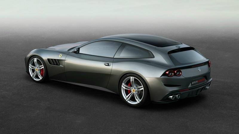 Nuevo Ferrari GCT4Lusso