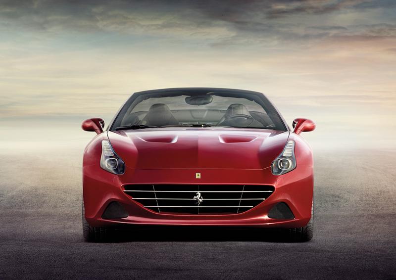 Foto Delantera Ferrari California-t Descapotable 2014
