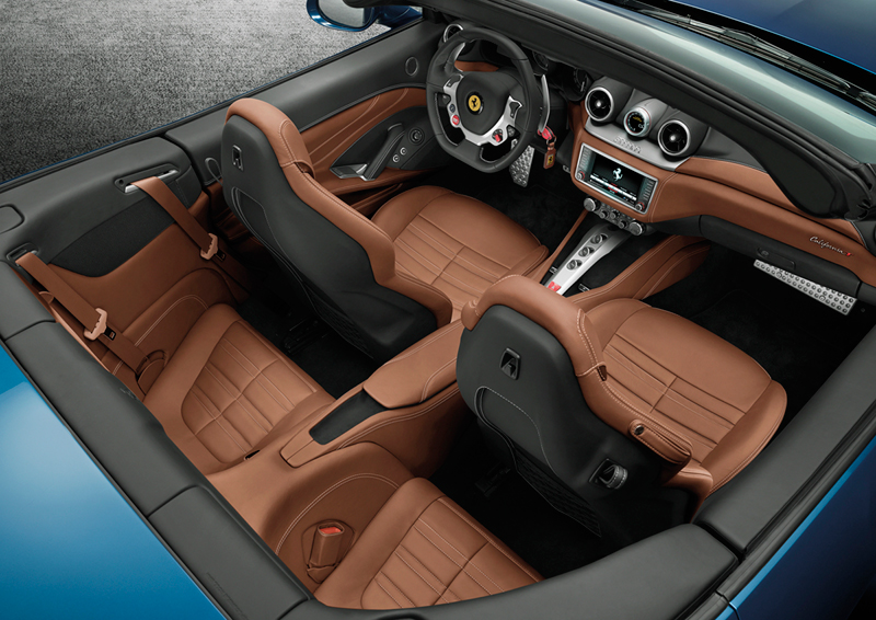 Foto Interiores Ferrari California T Descapotable 2014