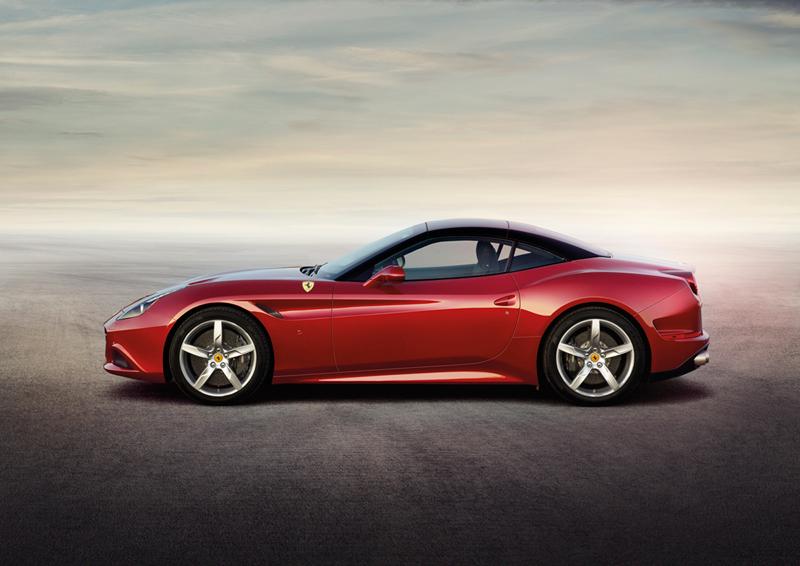 Foto Lateral Ferrari California T Descapotable 2014