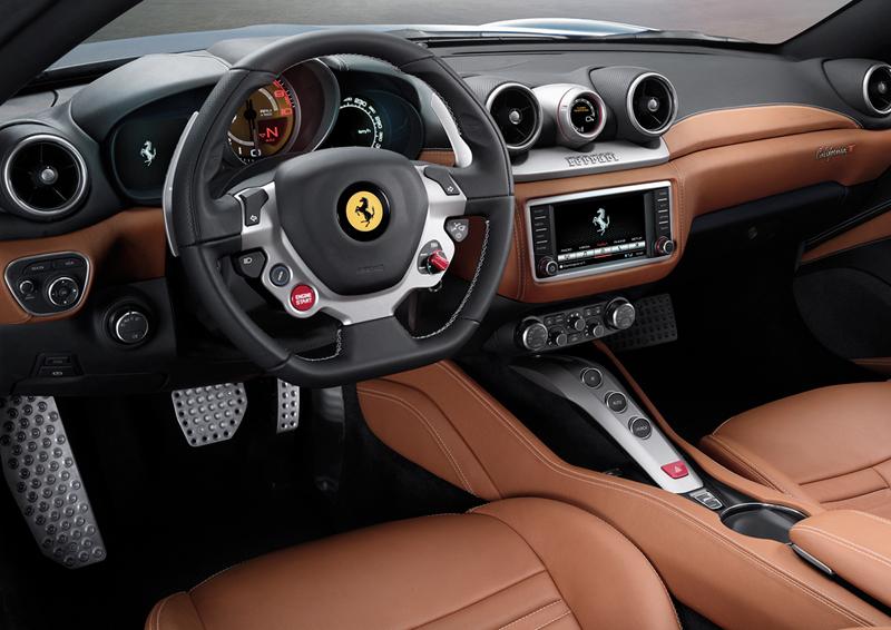 Foto Salpicadero Ferrari California T Descapotable 2014
