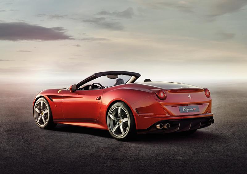 Foto Trasera Ferrari California-t Descapotable 2014