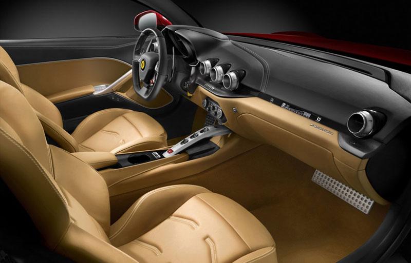 Foto Interiores Ferrari F12 Berlineta Cupe 2012