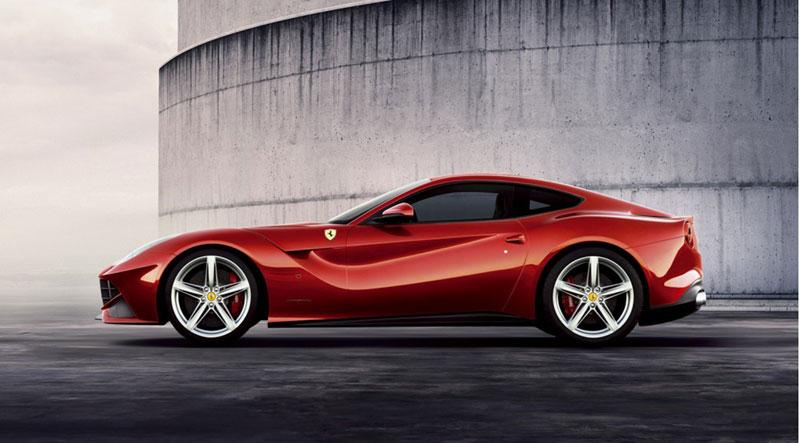 Foto Perfil Ferrari F12 Berlineta Cupe 2012