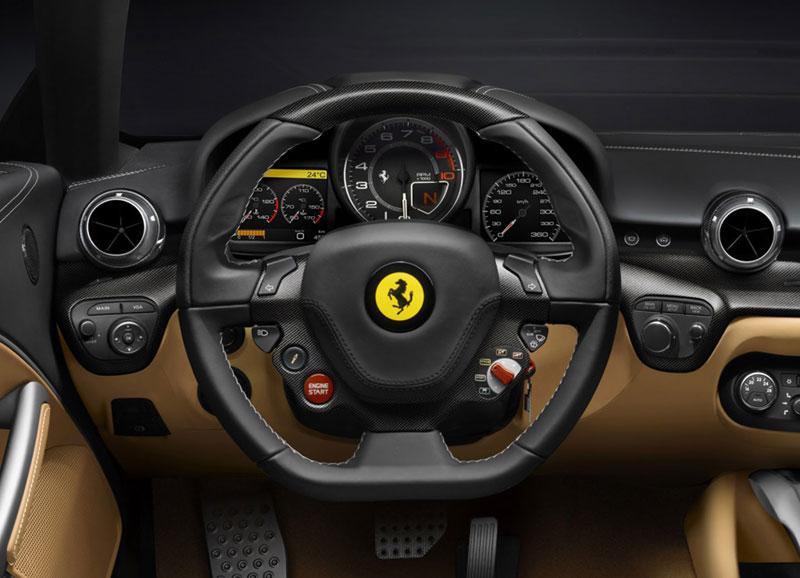 Foto Salpicadero Ferrari F12 Berlineta Cupe 2012