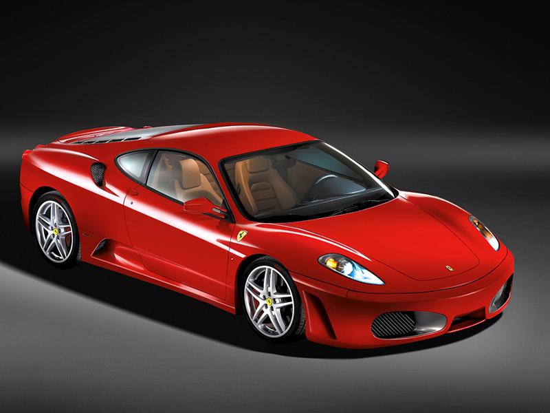 Foto Lateral Ferrari F430 Cupe 2008