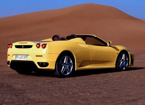 Foto Trasero Ferrari F430 Descapotable 2008