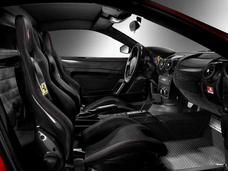 Foto Interiores Ferrari F430 scuderia Cupe 2007