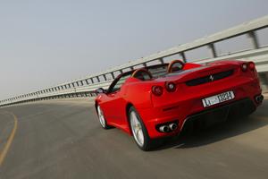 Foto Trasera Ferrari F430 spyder Descapotable 2007