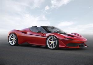 Foto Delantera Ferrari J50 Descapotable 2016