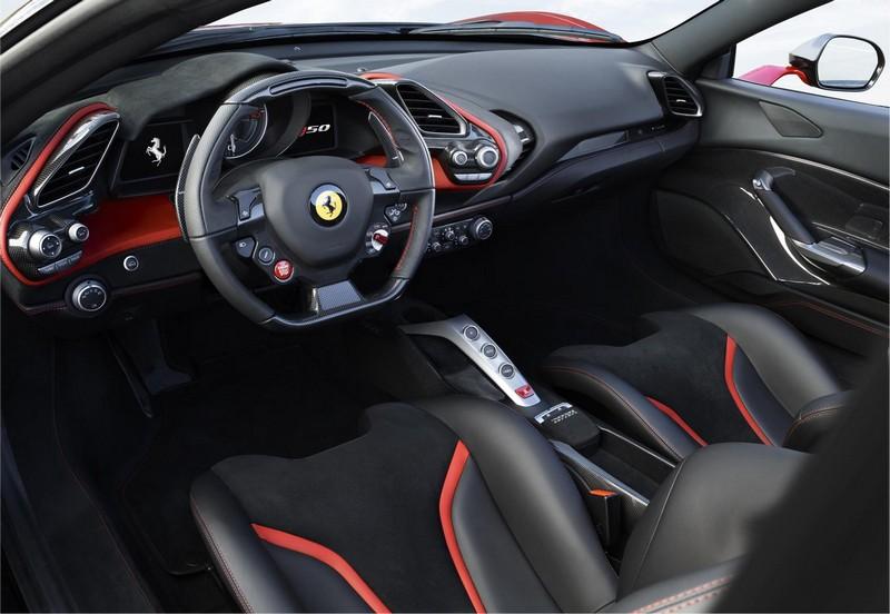 Foto Salpicadero Ferrari J50 Descapotable 2016