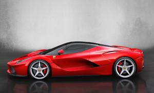 Foto Lateral Ferrari Laferrari Cupe 2013