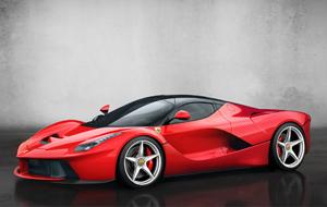 Foto Perfil Ferrari Laferrari Cupe 2013