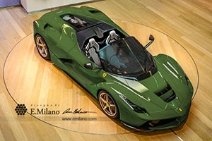 Foto Exteriores (1) Ferrari Laferrari-spider-recreaciones Descapotable 2016