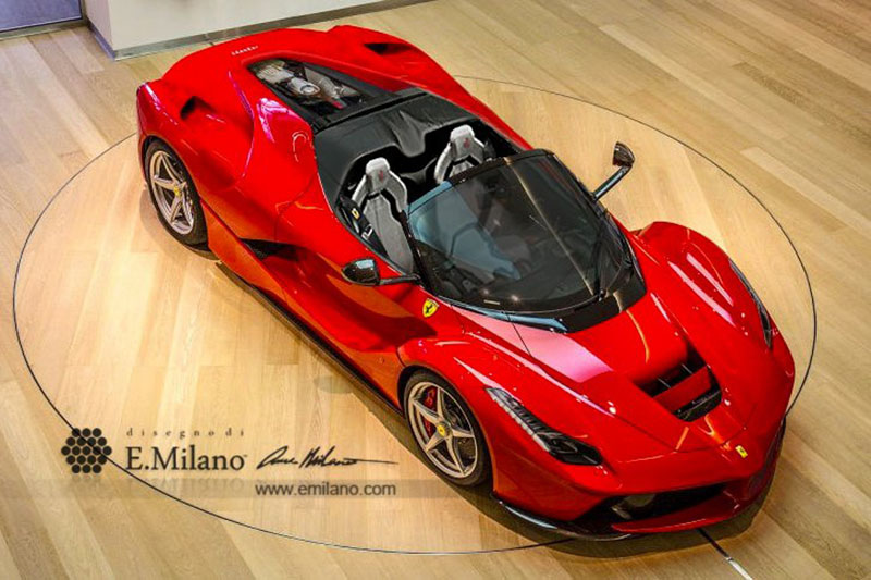 Foto Exteriores (2) Ferrari Laferrari-spider-recreaciones Descapotable 2016
