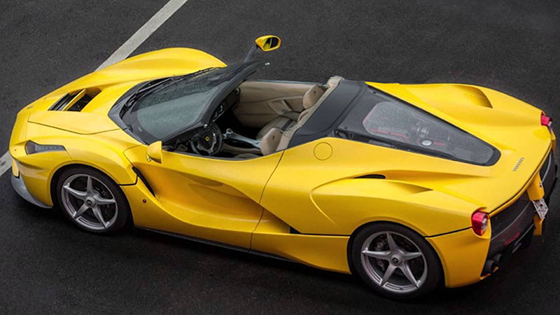 Foto Exteriores (6) Ferrari Laferrari-spider-recreaciones Descapotable 2016