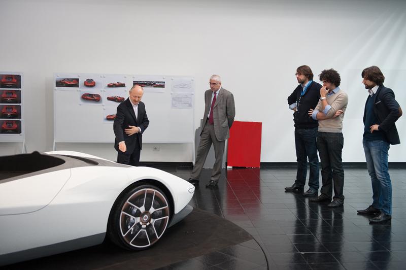 Foto Tecnicas Ferrari Sergio Cupe 2013