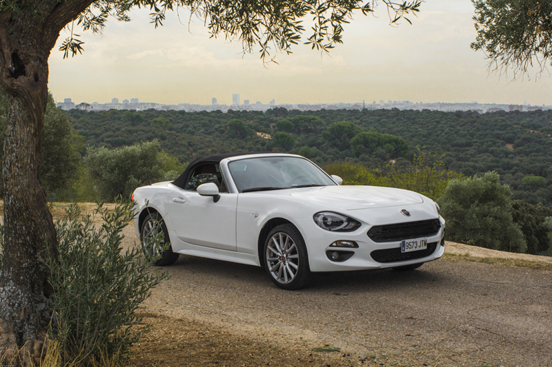 Fiat 124 Spider Madrid