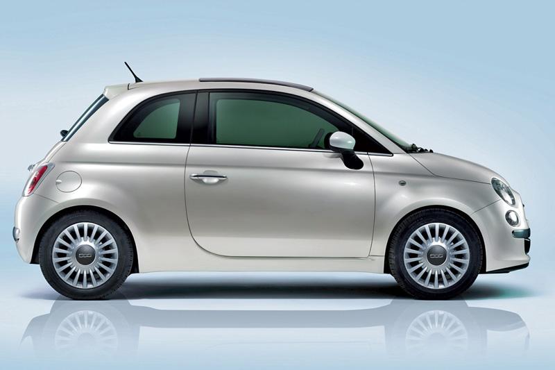 Foto Lateral Fiat 500 Dos Volumenes 2007