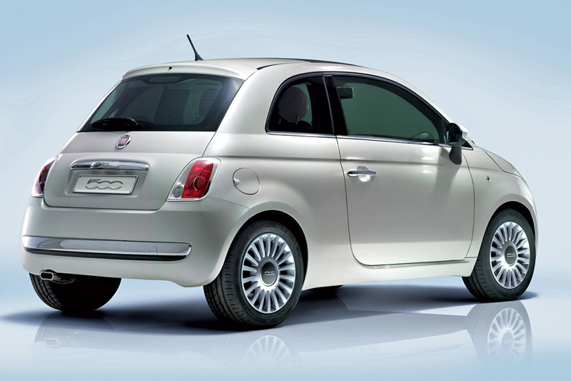 Foto Trasero Fiat 500 Dos Volumenes 2007