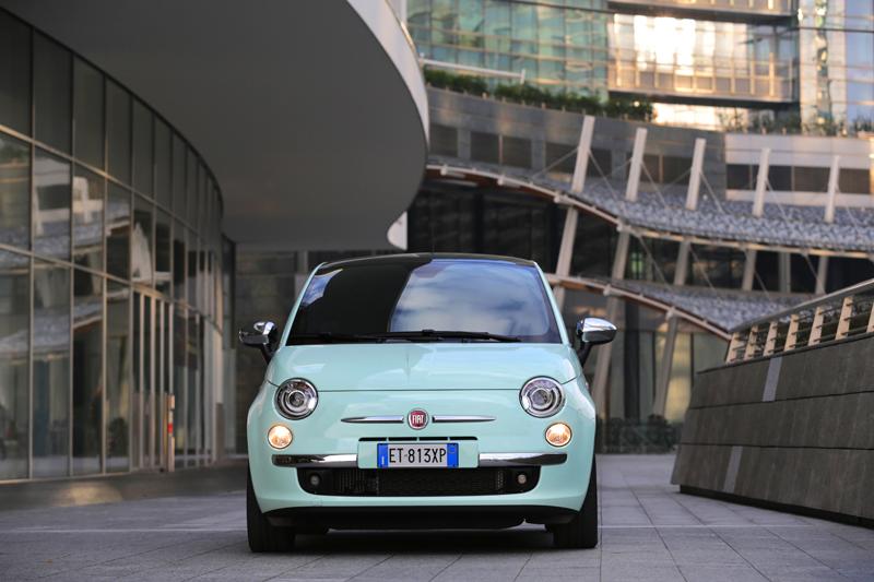 Foto Delantera Fiat 500 Dos Volumenes 2014
