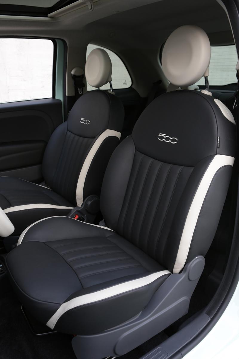 Foto Interior Fiat 500 Dos Volumenes 2014