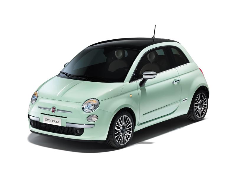 Foto Perfil Fiat 500 Dos Volumenes 2014