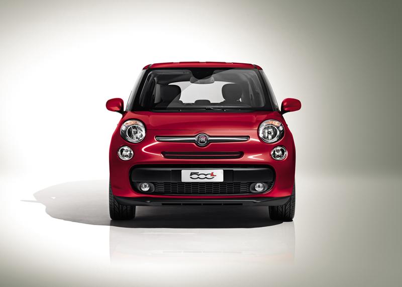 Foto Delantera Fiat 500l Monovolumen 2012