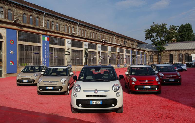Foto Exteriores Fiat 500l Monovolumen 2012