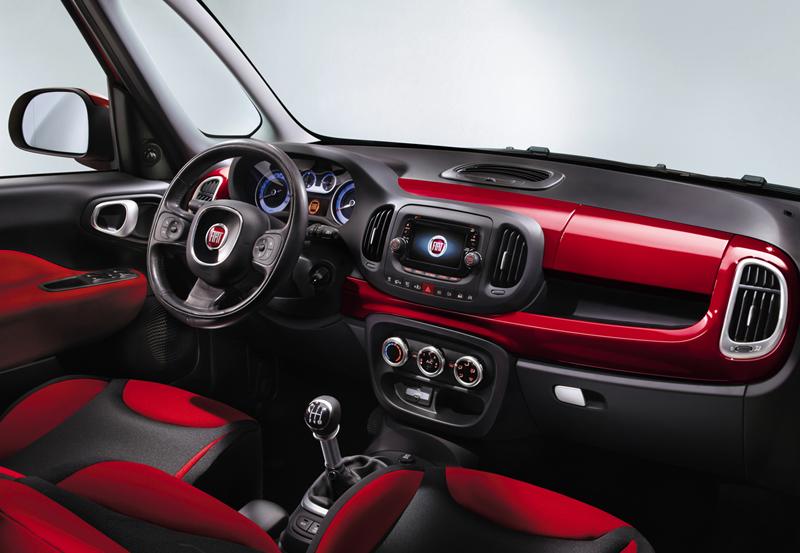 Foto Interiores Fiat 500l Monovolumen 2012