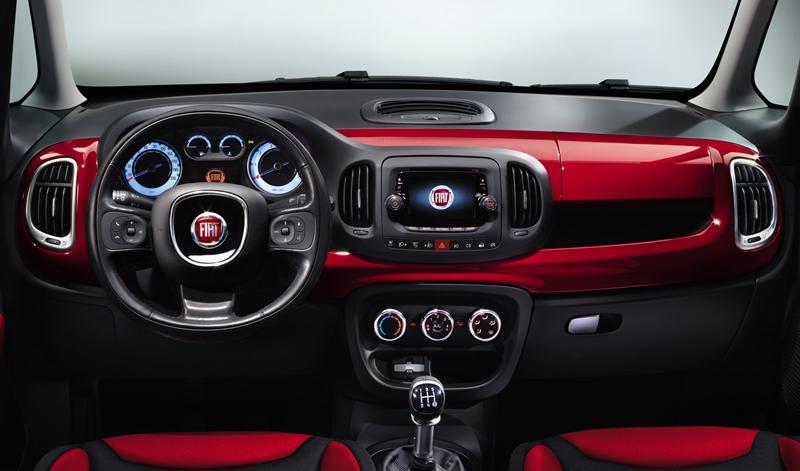 Foto Salpicadero Fiat 500l Monovolumen 2012